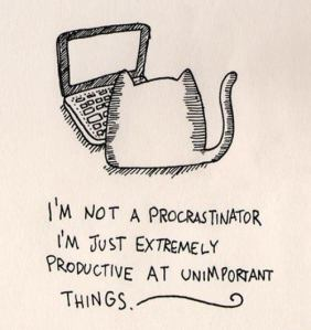 Procastinate or Learn