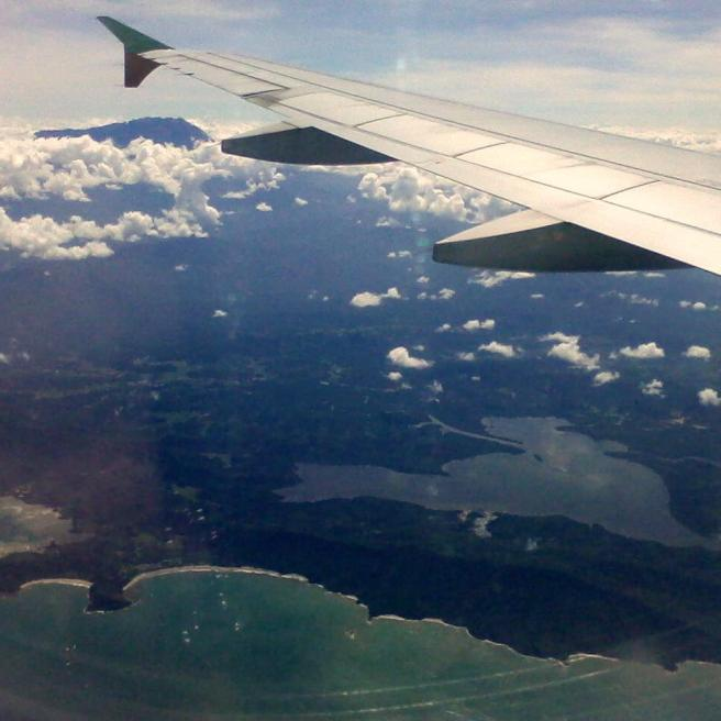 Seeing Kota Kinabalu for the first time